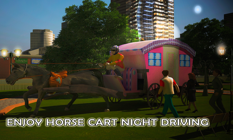 android Horse Carriage Transport Drive Screenshot 5