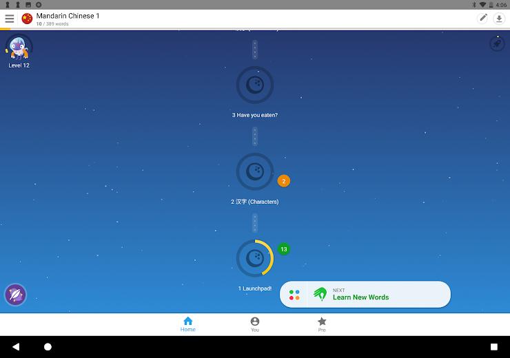 Screenshot 8 for Memrise's Android app'