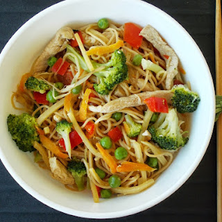 Noodles with Vegetables and Turkey Recipe