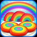 DIY Rainbow Cookies Maker Chef icon