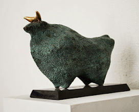 Photo: 28x19x15 cm, bronze, Bull, 2013