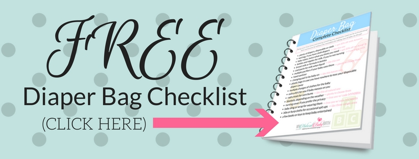 Free Diaper Bag Checklist