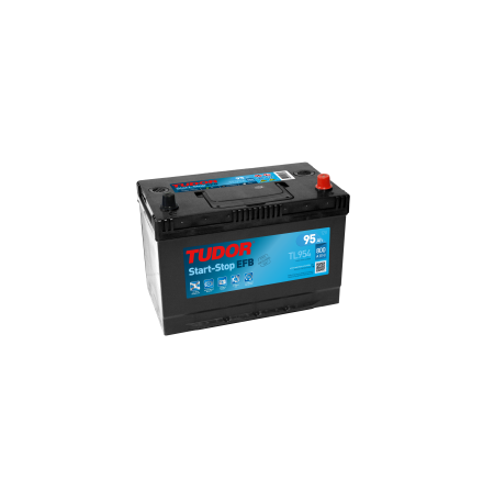 Bilbatteri 95Ah Tudor Exide TL954 Start-Stop EFB