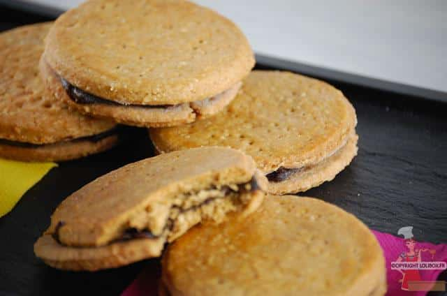 Chocolate Filled Cookies Recipe