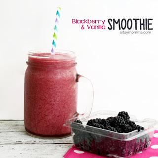 Blackberry Vanilla Smoothie.