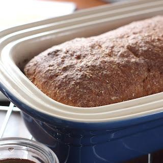 Cinnamon Honey Wheat English Muffin Bread.