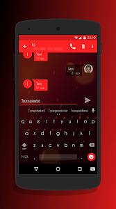 Transparent Red - CM12 Theme v3.1