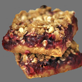 Cranberry Walnut Bars