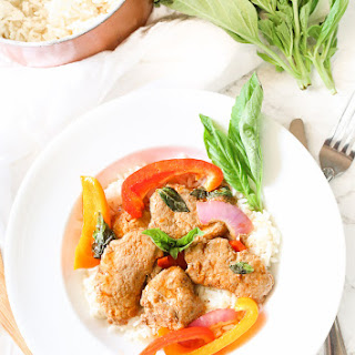 Thai Basil Pork Skillet Recipe