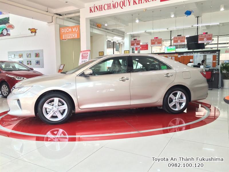 Giảm Giá xe hơi Toyota Camry 2.5 Q 2016, Mua Xe Toyota Trả Góp 1