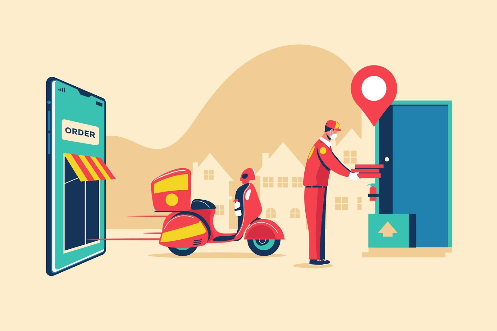 food ordering business