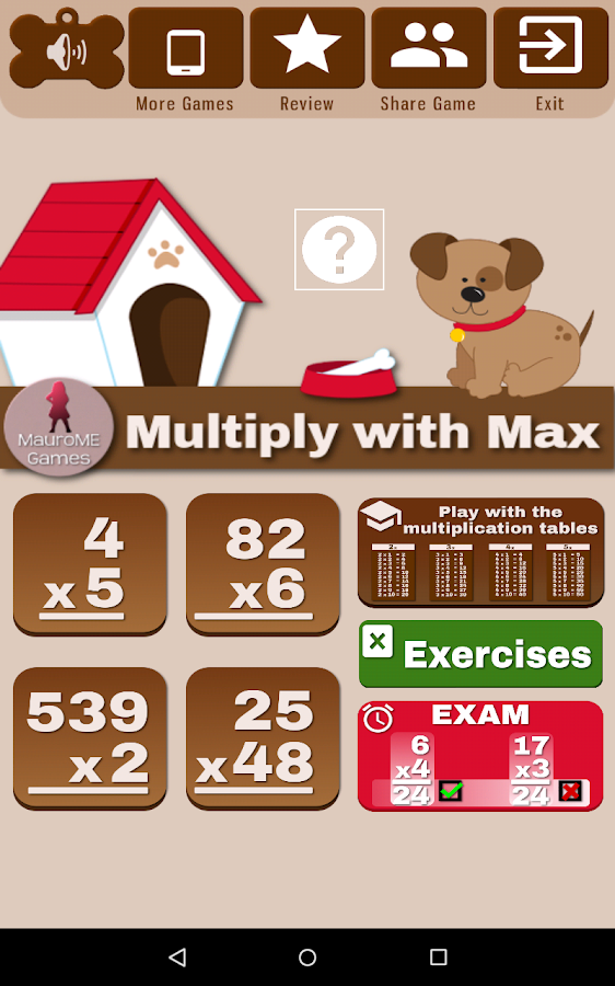 Multiply with Max- screenshot