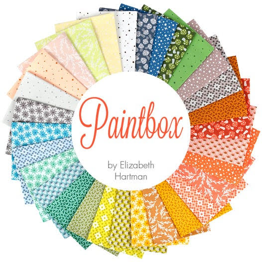 Jelly Roll Paintbox av Elizabeth Hartman (16404)