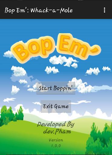 Bop Em': Whack-a-Mole