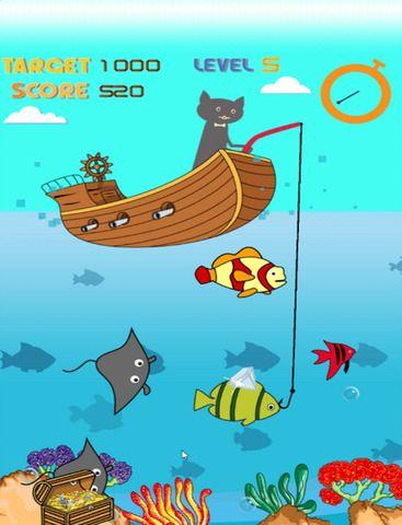 Download magnetic cat fishing game for pc for Fish game for cats