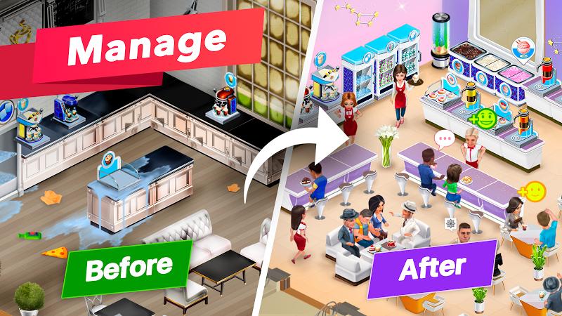 My Cafe — Restaurant game Screenshot 5