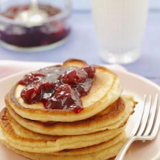 Cherry Jam Pancakes