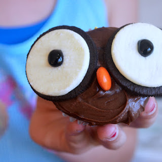Halloween Owl Cupcakes Recipe