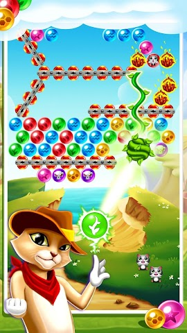 android Witch's Cat Bubble Pop Screenshot 5