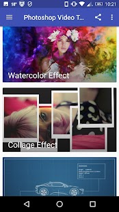 Photoshop Tutorials Screenshot