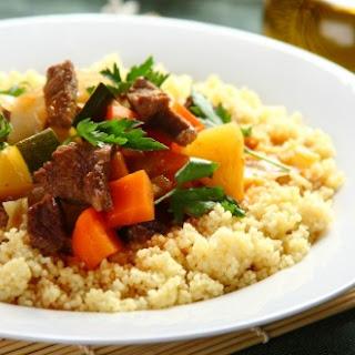 Rindfleischtagine mit Couscous