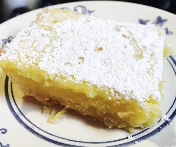 ~ Luscious Lemon Squares ~ Recipe