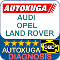 Audi, Opel, Land Rover 3 scanner cars OBD2 ELM327 icon