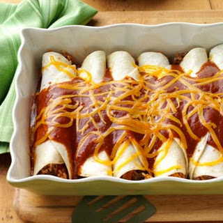 Ground Beef Enchiladas With Rice Recipes