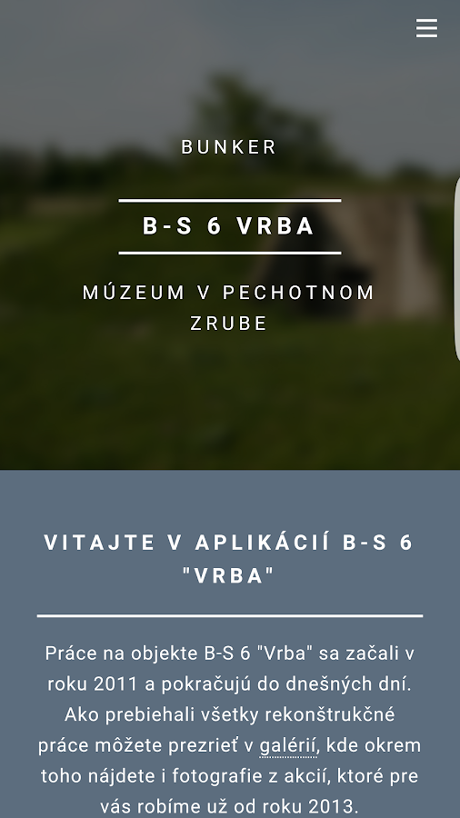 B-S 6 Vrba- screenshot