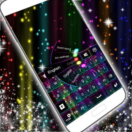 彩虹霓虹键盘 個人化 App LOGO-APP試玩
