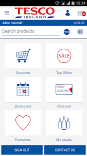 Tesco Ireland - Home Shopping- screenshot thumbnail