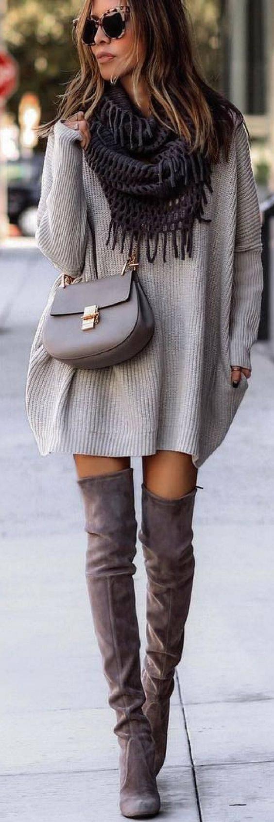 winter-wear-for-women-high-neck-sweater-dress_image
