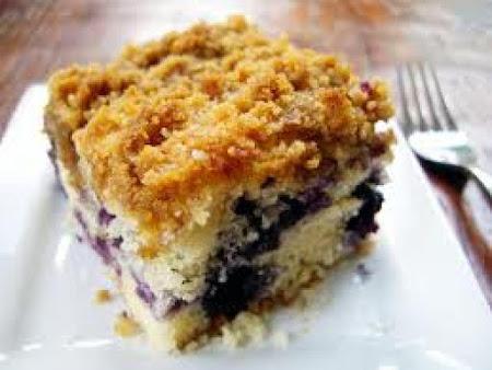 Blueberry Crumb Coffeecake Recipe