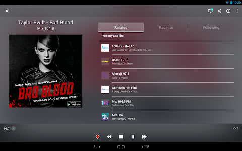 TuneIn Radio Pro - Live Radio screenshot 5