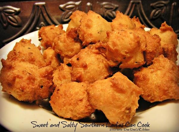 Crispy  Tender Tasty Hushpuppies Recipe