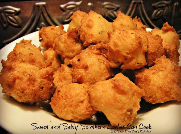 Crispy  Tender Tasty Hushpuppies Recipe