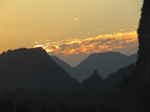 Photo: Day 303 - Sunset Over Vang Vieng #4