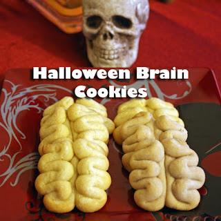 Halloween Brain Cookies Recipe