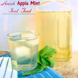 Amish Apple Mint Iced Tea.