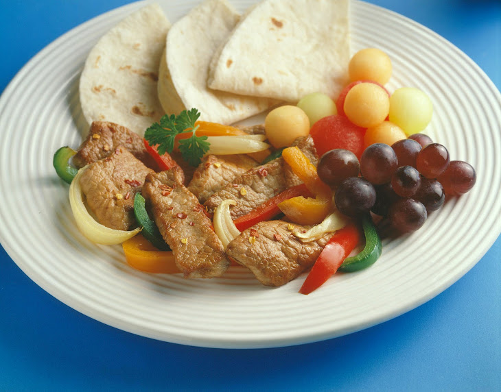 Fantastic Pork Fajitas Recipe