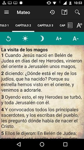 Holy Bible Reina Valera 1960 screenshot 4