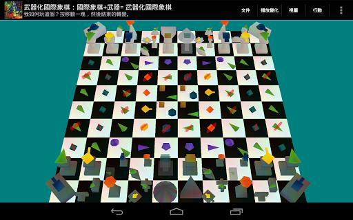 武器化的國際象棋:國際象棋+武器