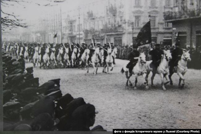 Радянські війська у Львові.Вересень 1939 року
