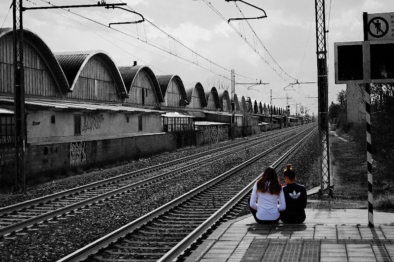In viaggio con il treno di Charlie_balloon