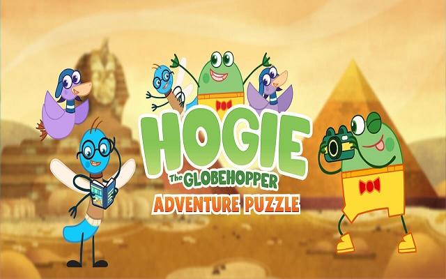 Hogie The Globehoppper Adventure Puzzle