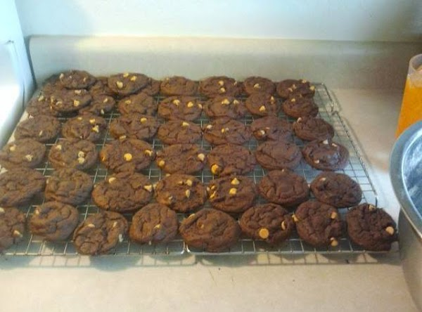 Add chips and 2nd package of cake mix and mix by hand. Drop by...