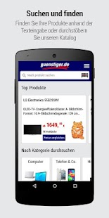 guenstiger.de- screenshot thumbnail