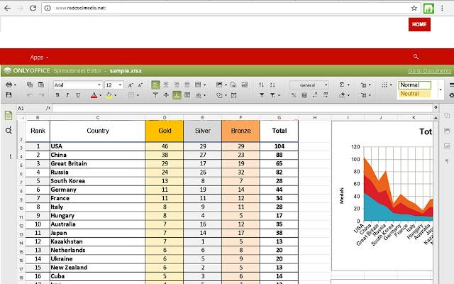 XlsWork XLS editor for spreadsheets