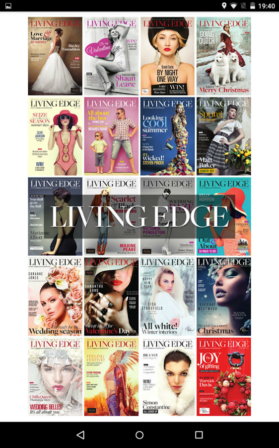 Living Edge: Fashion & Style- screenshot