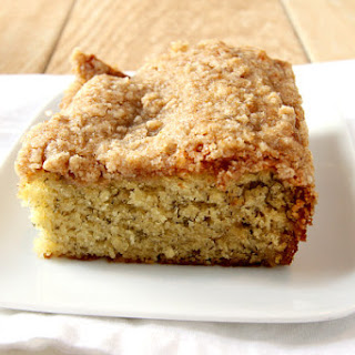 Banana Coffee Cake with Streusel Topping Recipe